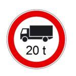 20 tonnás súlykorlátozások az országos főúthálózaton