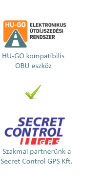 Álló - Secret Control GPS - partner